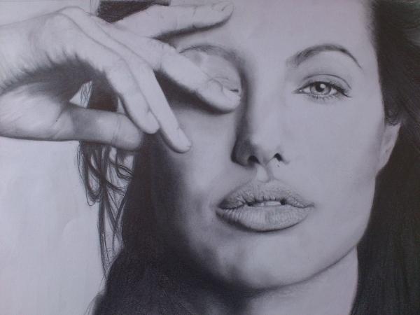Angelina Jolie by mancasgall